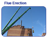 Flue Erection